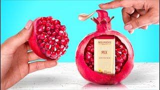 Makeup Inside Fruit! 6 Fun DIY Ideas