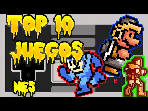 Top 10 Mis Juegos Favoritos De La NES