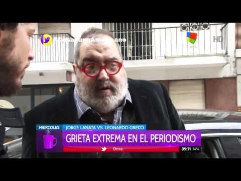 Jorge Lanata respondió a la invitación de Leonardo Greco de agarrarse a trompadas