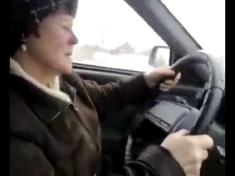 Экстаз  юмор 18) Баба за рулем ПОЛНЫЙ РЖАЧ!!! Лучшие приколы