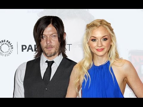 Is real norman reedus and emily kinney are dating worldnews com