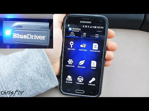 BlueDriver OBD2 Diagnostic Scan Tool Review (reads ABS. Airbag. Tranny Codes)