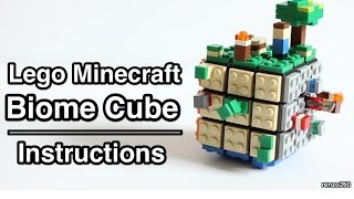 Lego Minecraft Biome Cube | Instructions
