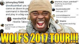 WOLF'S DEN  2017 TOUR ANNOUNCEMENT!!!!!