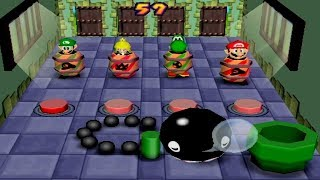 All Funny Chain Chomp Minigames in Mario Party Games