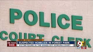 Police investigate homicide in Forest Park