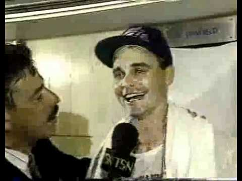 Road to the World Series. Buck Martinez interviews Winfield, Ward, Alomar, Key after the Blue Jays win the ALCS and go on to their first World Series.