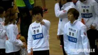 120108 Idol Star Sports Championship - Cute Saranghae From INFINITE HOYA