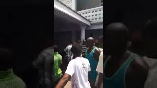 Ghana police witnessed the breaking of the stool room, this is a miracle, police saw people breaking