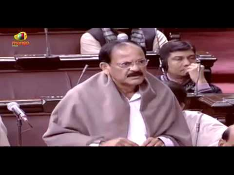 Union Minister Venkaiah Naidu snaps Opposition for interrupting him in Parliament