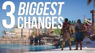 Assassin's Creed Odyssey's 3 BIGGEST CHANGES!   New Combat Style, New Characters & More!