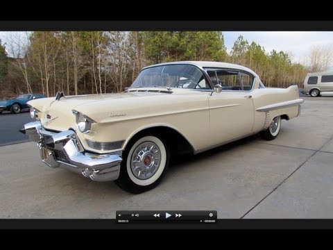 1957 Cadillac Series 62 Coupe Start Up, Exhaust, and In Depth Tour
