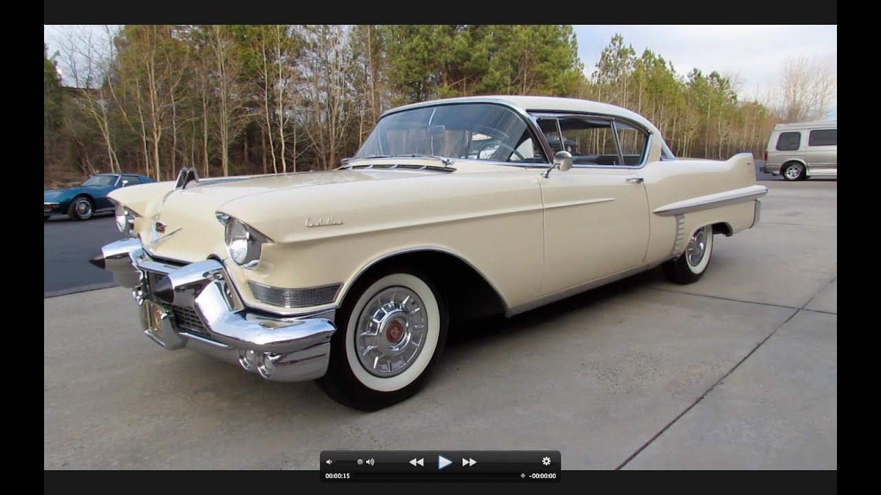 1957 Cadillac Series 62 Coupe Start Up Exhaust And In