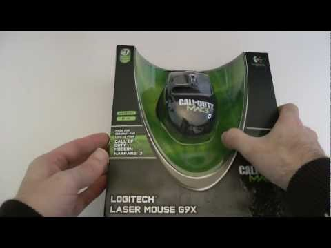 Logitech Laser Mouse G9X COD MW3 Edition Unboxing & First Look