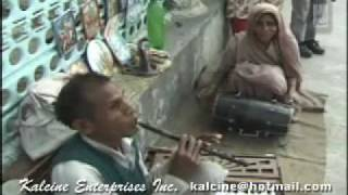 Roadside talent in Rishikesh, India - Visually challenged Flutist