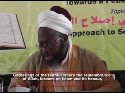 Soul Purification Part 2 - Sheikh Dhikrullah Shafii