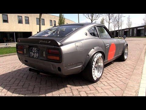 Modified Datsun 260Z - LOUD Revs, Onboard & Accelerations!