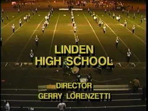 Linden High School Marching Band 1990