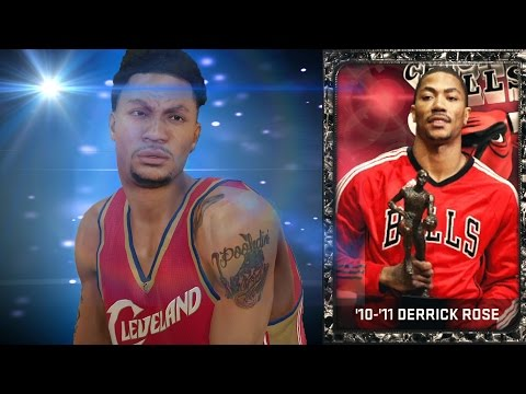 Onyx Throwback Derrick Rose Debut! NBA 2k15 MyTeam BEST OFFENSIVE POINT GUARD! Funny Gameplay