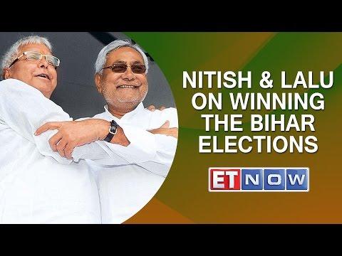 Nitish Kumar & Lalu Prasad Yadav On Winning The Bihar Elections