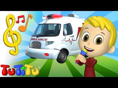Piosenki Po Angielsku Dla Dzieci | Karetka | Nauka Angielskiego Dla Dzieci
