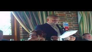 Funny scouse groom's wedding speech