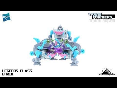 Transformers Titans Return Legend Class GNAW Video Review