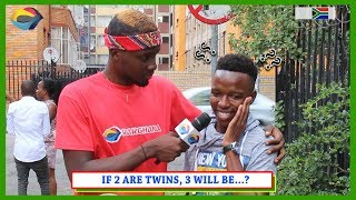 If Two Are TWINS, Three Will Be...? | Street Quiz South Africa | Street Quiz Mzansi | Funny Videos