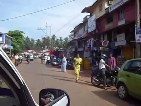Goa driving by taxi. india travel video. traveleleven.com