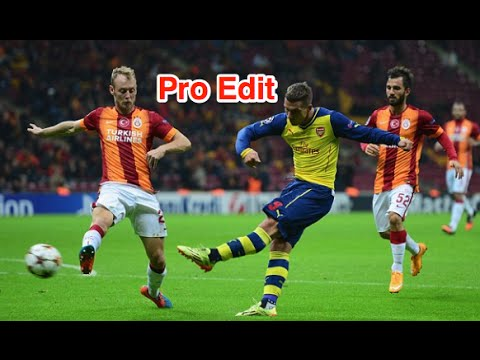 Aron Ramsey - Amazing Goal vs Galatasaray - Pro Edit - HD
