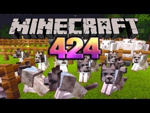 Let's Play Minecraft #424 [Deutsch] [HD] - Hundemeute & Schafe schlachten