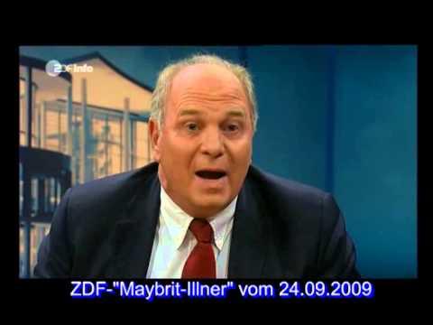 Bumerang-TV-Zitate des Uli Hoeneß (Zitat-Ausschnitte aus ZDF-Maybrit-Illner vom 24.09.2009)