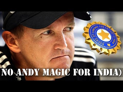 BCCI denies reports of having contacted Andy Flower to replace Fletcher