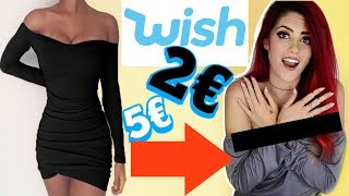 WISH FASHION Try On Haul -  Experiment: Werbung vs Realität I Luisacrashion