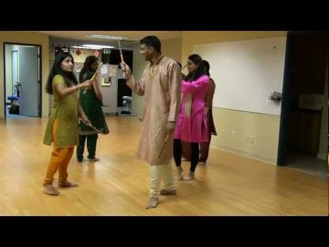 Garba And Dandia Lessons... Gear Up To Sef Dandia 2012 video