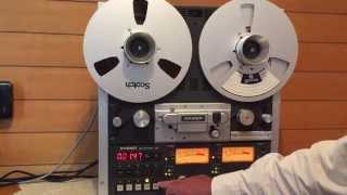 STUDER  A810  VARIOUS  OPERATIONS  DEMO
