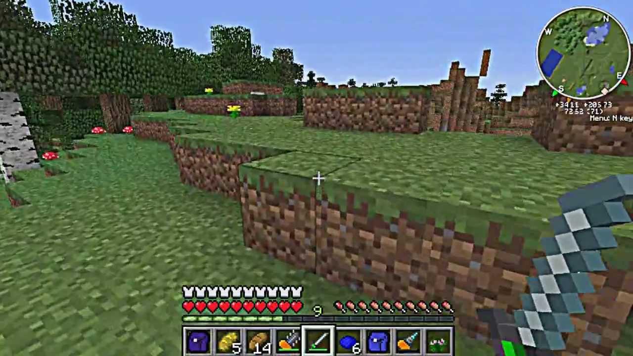 "Let's play Minecraft с Модами 13 ""Нано меч"" - YouTube"