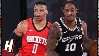 Houston Rockets vs San Antonio Spurs - Full Game Highlights | August 11, 2020 | 2019-20 NBA Season