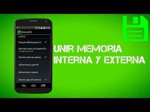 Unir Memoria Interna con Externa ( Modulo Exposed)