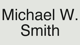 Watch Michael W Smith This Is Your Time reprise video