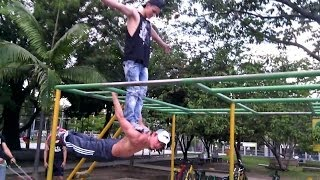 Street Workout ( Family Medellin)