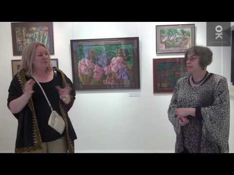 Открытие выставки Светланы Атахановой «Вечное лето». Открытый клуб