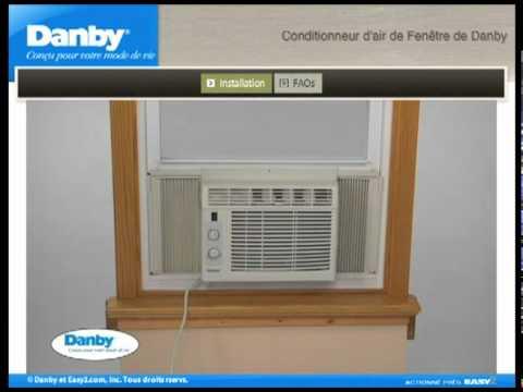 climatiseur de fen tre capacit petite moyenne youtube