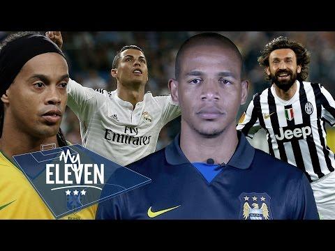 Fernando Picks His Greatest Ever Team   Pirlo, Cristiano Ronaldo, Ronaldinho, & More! video