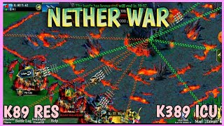 NETHER WAR WITH K89 RES | KING OF AVALON