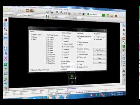KiCaD Diseño de placa pinguino Hadware Libre (PCB)