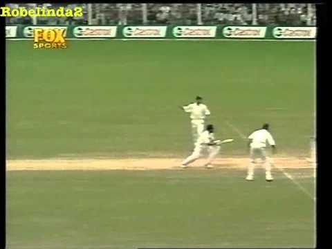 Sachin Tendulkar 1st TIME STUMPED IN TEST CRICKET vs Ashley Giles, the wheelie bin, King Of Spain