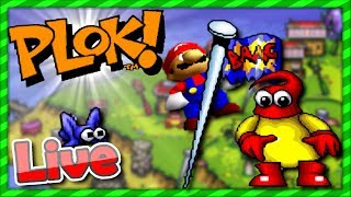 "*MM-Live* | MegaMario's Retro-Lieblinge: ""PLOK!"" (evtl. noch ein Super Mario Bros 64 Run)"