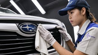 The official opening of the Tan Chong Subaru Automotive Thailand assembly plant