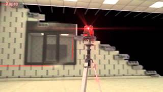Kapro 895 7 Beam Laser Level   Hanging cabinets and shelves, Setting floor tiles and more!
